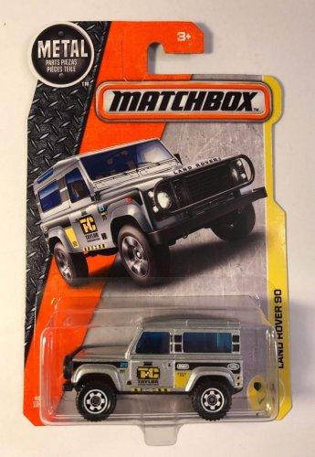 2017 Matchbox MBX Construction - Land Rover 90 Silver. 48/125