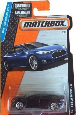 Matchbox 2016 Tesla Model S (Dark Blue)