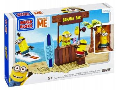 Mega Bloks Despicable Me Beach Day Figure Pack