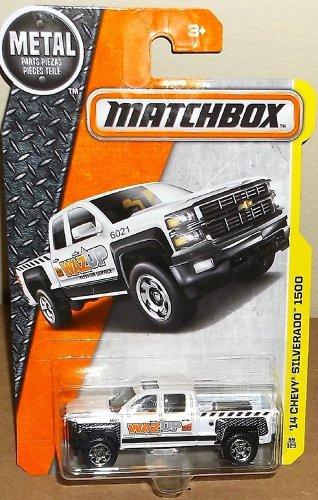 Matchbox 2016 MBX Construction '14 Chevy Silverado 1500. White.
