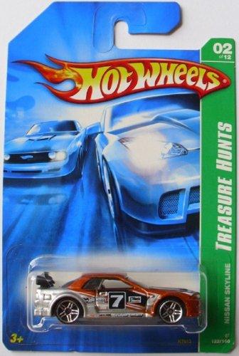 Hot Wheels 2007 Nissan Skyline Treasure Hunts 122/180. 1:64 Scale diecast.