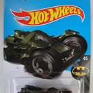 Hot Wheels 2017 Batman Batman: Arkham Knight Batmobile 88/365, Dark Green