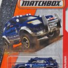 Mattel Matchbox MBX Heroic Rescue 80/125 - Ford Explorer Police. Blue.