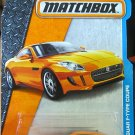 Matchbox 2016 MBX Adventure City '15 Jaguar F-Type Coupe 15/125, Orange