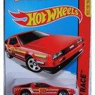 Hot Wheels, 2015 HW Race, DMC Delorean [Red] 184/250