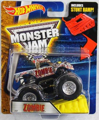 Hot Wheels Monster Jam Zombie #37 includes Stunt Ramp