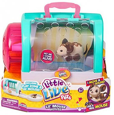 Little Live Pets Lil' Mouse House - Choc Bop