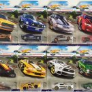 2016 Hot Wheels Ford Performance Series. Set of 8 Mustang Cars