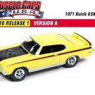 2016 Johnny Lightning Muscle Cars U.S.A. 1971 Buick GSX. 1:64 Scale diecast Car.