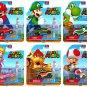 Super Mario Hot Wheels Retro Die Cast Complete Set of 6 Cars