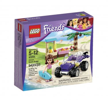 LEGO Friends Olivia's Beach Buggy 41010