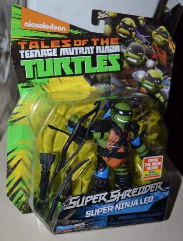 Teenage Mutant Ninja Turtles Super Ninja Leonardo Action Figure