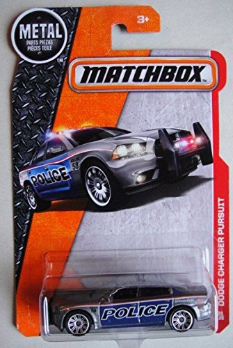 Matchbox 2016 Dodge Charger Pursuit Police Car 86/125.