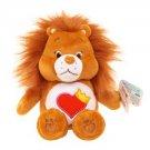 """Care Bears & Cousins. Brave Heart Lion 8"""" Plush."""