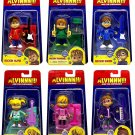 Alvin and The Chipmunks & Chipettes Complete Action Figure Set of 6