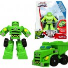 Transformers Boulder The Robot to Dump Truck Playskool Rescue Heroes