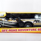 Tonka Off-road Adventure Set Police Water Rescue Pick Up Truck with Jet Ski