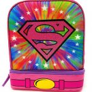 DC Superhero Girls Supergirl  Lunch Box with Cape