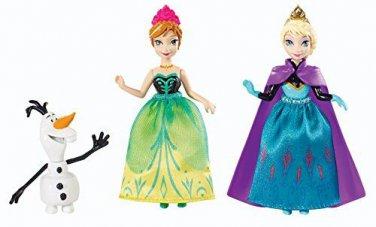 "Disney Frozen 3.75"" Sisters 3-Pack gift Set"