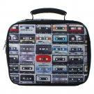 Nailhead Radio Motif Lunch Bag