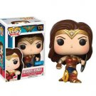 Pop! Heroes Wonder Woman Vinyl (Shield) 175 Exclusive