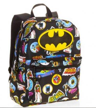 Batman Comic 16 Standard Size Backpack