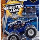 Hot Wheels Monster Jam Chrome SON UVA DIGGER with team flag 1/7