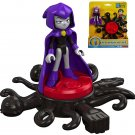 "Fisher Price Imaginext Teen Titans Go Magic Attack Raven Figure 2.5"""