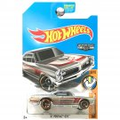 Hot Wheels 2017 Muscle Mania '67 Pontiac GTO, Exclusive ZAMAC