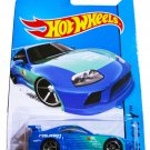 Hot Wheels 2014 HW City Toyota Supra 22/250, Blue