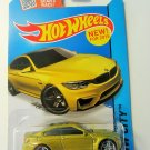 Hot Wheels 2015 HW City BMW M4 24/250, Gold