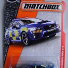 Matchbox  Adventure City '15 Subaru WRX STI (Police Car) 60/125, Blue