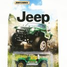 2015 Matchbox Jeep Series Jeep Hurricane Concept (Green)