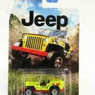 2015 Matchbox Jeep Series '43 Jeep Willys (Yellow)