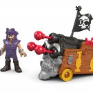 Fisher-Price Imaginext Davey Jones & Triple Cannon