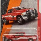 Matchbox 2017 MBX Heroic Rescue '15 Dodge Ram 1500 62/125, Red