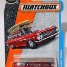 Matchbox 2017 MBX Adventure City 1/125 - '59 Chevy Wagon (Red)