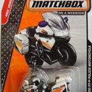 Matchbox 2014.  BMW R1200 RT-P Police Motorcycle 73/120