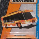 Matchbox 2016. Swift Shuttle. Airport Shuttle Bus 6/125, Orange