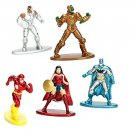 Nano Metal Diecast Figures. DC Wonder Woman, Cyborg, The Flash and Parademon