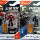 Mega Construx  Star Trek The Next Generation Captain Picard and Borg Drone Bundle