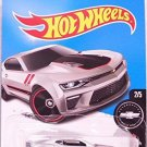 Hot Wheels 2017 Camaro Fifty '16 Camaro SS 155/365, Silver
