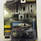 Johnny Lightning Street Freaks Blacked Out 2000 Chevy Corvette C5 VER B