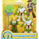 """Fisher Price Imaginext Mummy Guards Figures 2.5"""""""