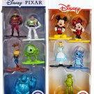 "Disney/Pixar Die-cast Nano Metal 1.5"" Figures Bundle."