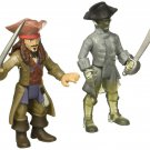 Pirates of the Caribbean: Dead Men Tell No Tales - Jack Sparrow vs. Ghost Crewman - Action Figures