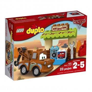 LEGO DUPLO Disney Pixar Cars 3 Mater´s Shed 10856