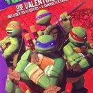 Teenage Mutant Ninja Turtles Valentines with Stickers