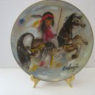 "Vintage - DeGrazia - ""Merry Little Indian"" Collectors Plate Circa 1981"
