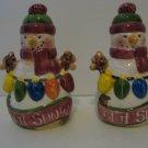 Let It Snow -  Snowmen  Salt & Pepper Shakers